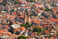 Taxco aerial view Royalty Free Stock Images