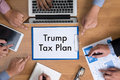 Taxes Time Document Trump Tax Plan Money Financial Accounting T