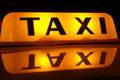 TAXI Royalty Free Stock Photo