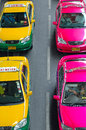 Taxi Bangkok Royalty Free Stock Photos