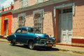 Taxi in Cuba Royalty Free Stock Photo