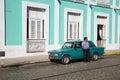 Taxi, Cuba Royalty Free Stock Photo