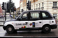 Taxi in London Royalty Free Stock Images