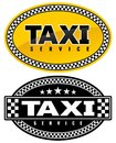 Taxi sign Royalty Free Stock Images