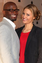 Taye Diggs,Shonda Rhimes,Kadee Strickland Royalty Free Stock Photos