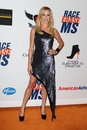 Taylor Armstrong arrives at the 19th Annual Race to Erase MS gala Stock Photos