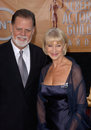Taylor hackford helen mirren feb los angeles ca husband at the th annual screen actors guild awards at the shrine auditorium Stock Photos