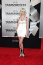 Taylor momsen the fallen arriving at transformers revenge of premiere at mann s village theater in westwood ca on june Royalty Free Stock Images