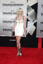 Taylor momsen the fallen arriving at transformers revenge of premiere at mann s village theater in westwood ca on june Royalty Free Stock Image