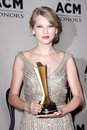 Taylor swift at academy of country music honors gala ryman auditorium nashville tn Royalty Free Stock Photo