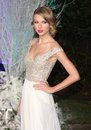 Taylor swift arriving for the winter whites gala dinner held at kensington palace london picture by henry harris featureflash Stock Photography