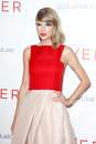 Taylor swift new york aug singer attends the premiere of the giver at the ziegfeld theatre on august in new york city Stock Images