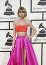 Taylor swift at the th grammy awards held at the staples center in los angeles usa on february Stock Photography