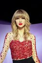Taylor Swift Wax Figure Royalty Free Stock Photo
