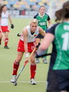 Tazza europea Germania 2011 di Englan v Ireland.Hockey Fotografia Stock