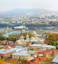 Tbilisi cityscape Royalty Free Stock Photography