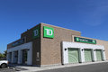 Td bank opening of a new canada trust branch on early july in urban port coquitlam bc canada Royalty Free Stock Photos