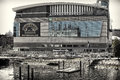Td garden the famous stadium in boston massachusetts usa house of boston bruins and boston celtics Royalty Free Stock Images