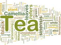 Tea beverage background concept Royalty Free Stock Images