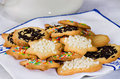 Tea biscuits - Biscotti da te' Royalty Free Stock Photo