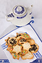 Tea biscuits - Biscotti da te' Royalty Free Stock Image
