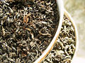 Tea _ black & green Royalty Free Stock Photo