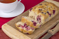 Tea bread Stock Photography