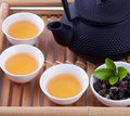 Tea ceremony chinese combination Royalty Free Stock Photography