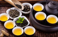 Tea ceremony chinese combination Stock Images