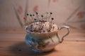 Tea Cup Pin Cushion