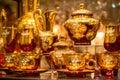 Tea cup set Royalty Free Stock Photo