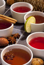 Tea - Herbal and Fruit Teas Royalty Free Stock Photos