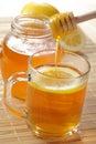 Tea with honey Royalty Free Stock Photo