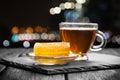 Tea and honey Royalty Free Stock Photo
