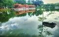Tea House, Chinese Garden Royalty Free Stock Photo