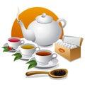 Tea  icon Stock Image