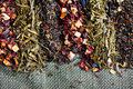 Tea leaves Royalty Free Stock Photo