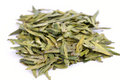 Tea leaves,Green Tea Royalty Free Stock Photo