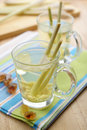 Tea with lemon grass Royalty Free Stock Image