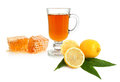 Tea, lemon and honey Royalty Free Stock Image