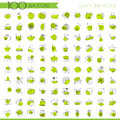 Tea line icon set, lined icon about tea, cup and seasoning for hot beverages. Tea minimalistic icon set