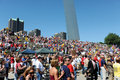 Tea Party Rally in Saint Louis Missouri Stock Image