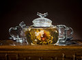 Tea service Stock Photos