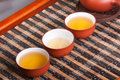 Tea set chinese traditional culture of the Stock Images