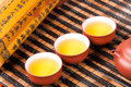 Tea set chinese traditional culture of the Royalty Free Stock Photos