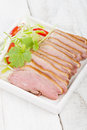 Tea smoked duck vietnamese style green breast Royalty Free Stock Photos