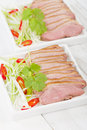 Tea smoked duck vietnamese style green breast Royalty Free Stock Images