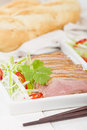 Tea smoked duck vietnamese style green breast Stock Photography