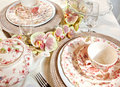 Tea table Royalty Free Stock Photos