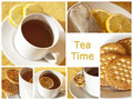 Tea time Stock Image